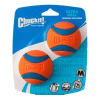 Chuckit Ultra Ball Medium Dog Toy 2 per pack