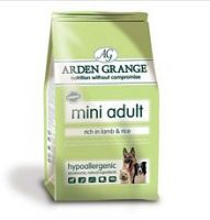 Arden Grange Dog Adult Mini Breed Lamb 2kg