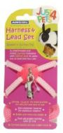 Ancol Rabbitt & Small Animal Harness & Lead Set (Pink)