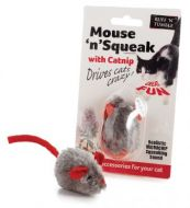 Mouse 'n' Squeak Catnip Cat Toy
