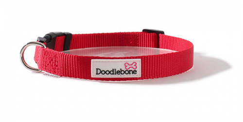 Doodlebone Collar Medium Red