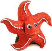 Air Powered Bubbling Starfish Ornament