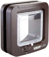 Sure Flap Microchip Cat Flap Brown