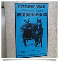 Pillowwad Woodshavings