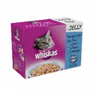 Whiskas Pouch Jelly Fisherman's Choice