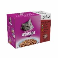 Whiskas Pouch Jelly Meat Selection