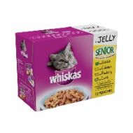 Whiskas Pouch Jelly Senior