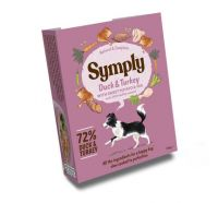 Symply Wet Food Tray Adult Duck & Rice 7 pack